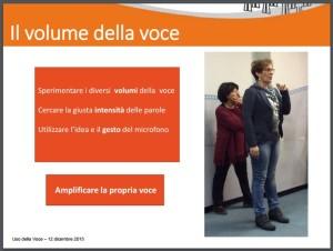 Il volume della voce - applicazione della psicofonia al corso parlare in pubblico